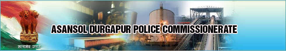 ASANSOL-DURGAPUR POLICE COMMISSIONERATE Headerimage