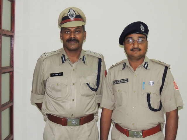 New & Old Commissioner of Police, Asansol Durgapur