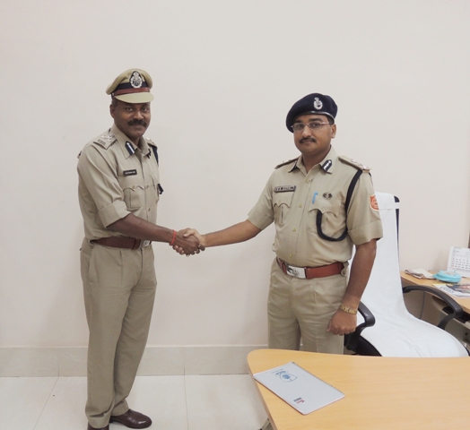 Old & New Commissioner of Police