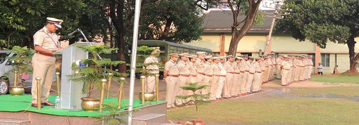 ASANSOL-DURGAPUR POLICE COMMISSIONERATE WEST BENGAL GOVERMENT 2nd RAISING DAY PARADE