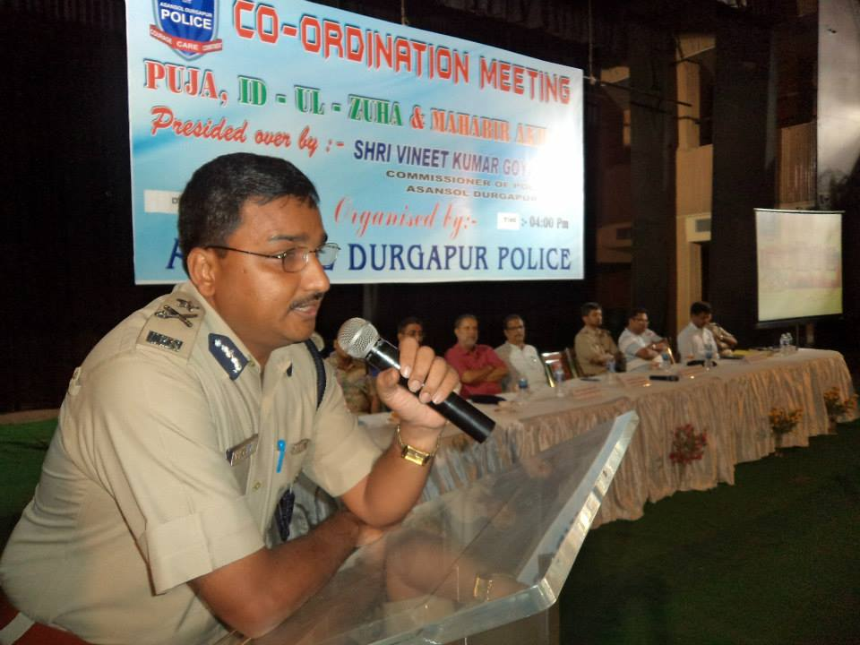 Co-ordination meeting for Durga Puja, ID-Ul- Zuha & Mahabir Akhara