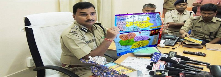 ASANSOL-DURGAPUR POLICE COMMISSIONERATE WEST BENGAL GOVERMENT PUJA GUIDE MAP 2013
