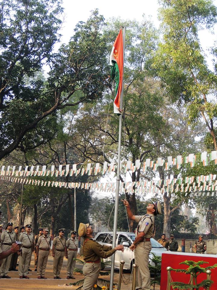 65th Republic Day Celebrations at Commissionerate Office, Asansol