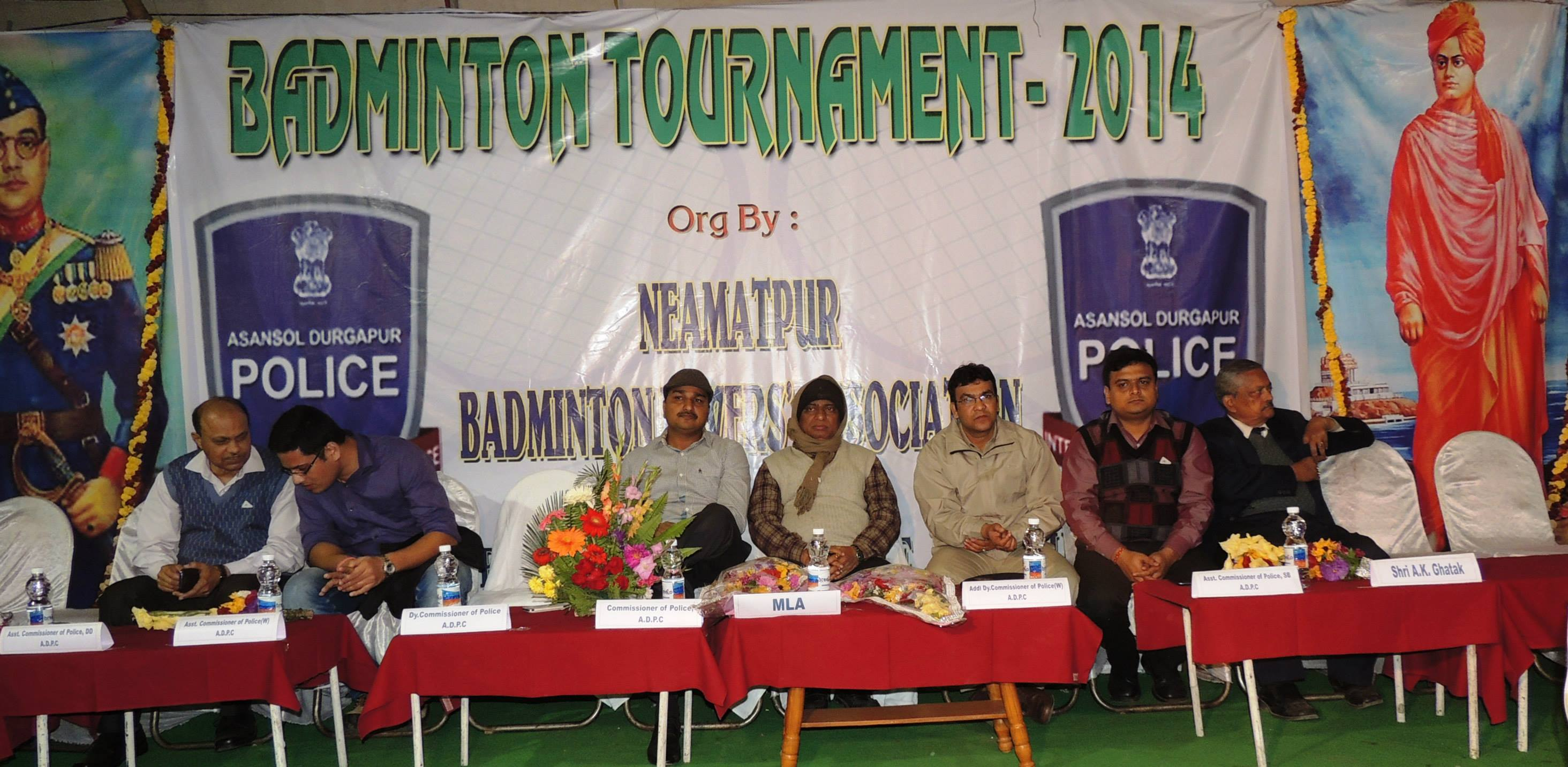 Badmintan Tournament at Neamatpur IC Play Ground under Kulti PS