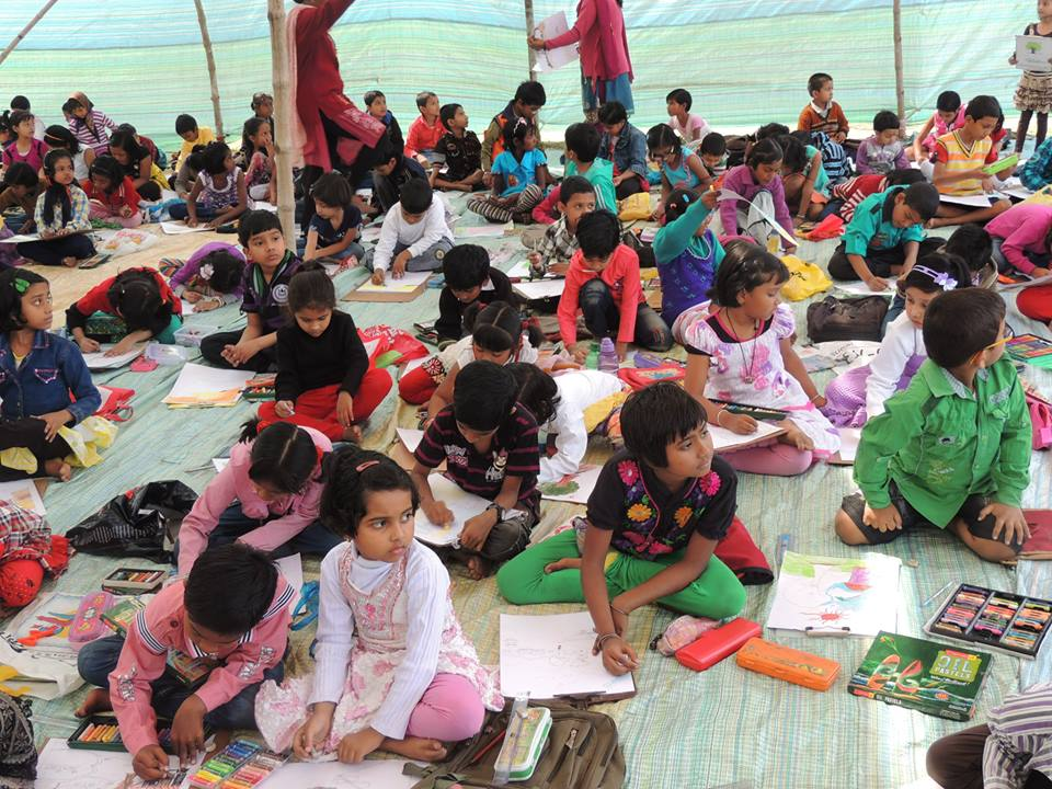 Sit & Draw Competition at Hirapur PS