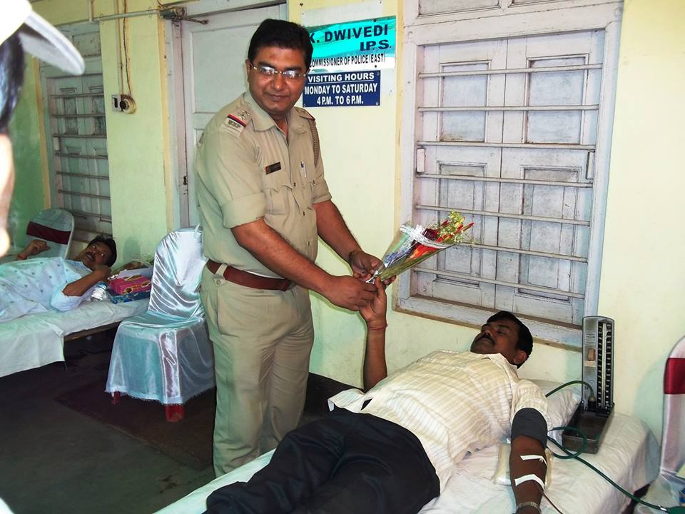 Blood Donation Camp at Durgapur PS