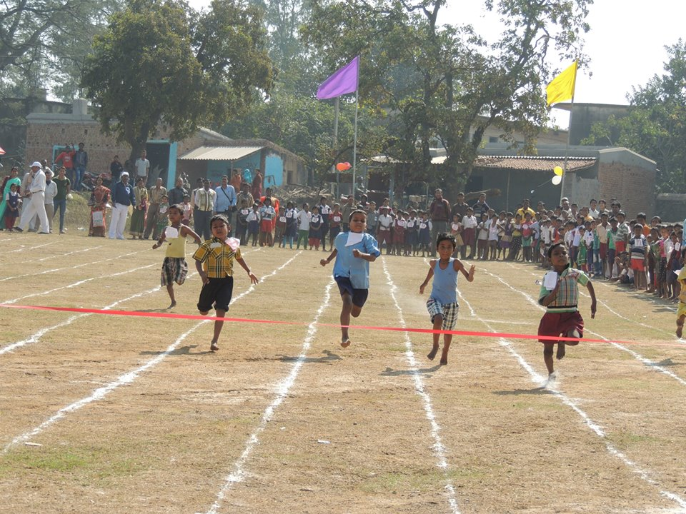 Inter Primary School Sports Organised by Kenda P.P. under Jamuria