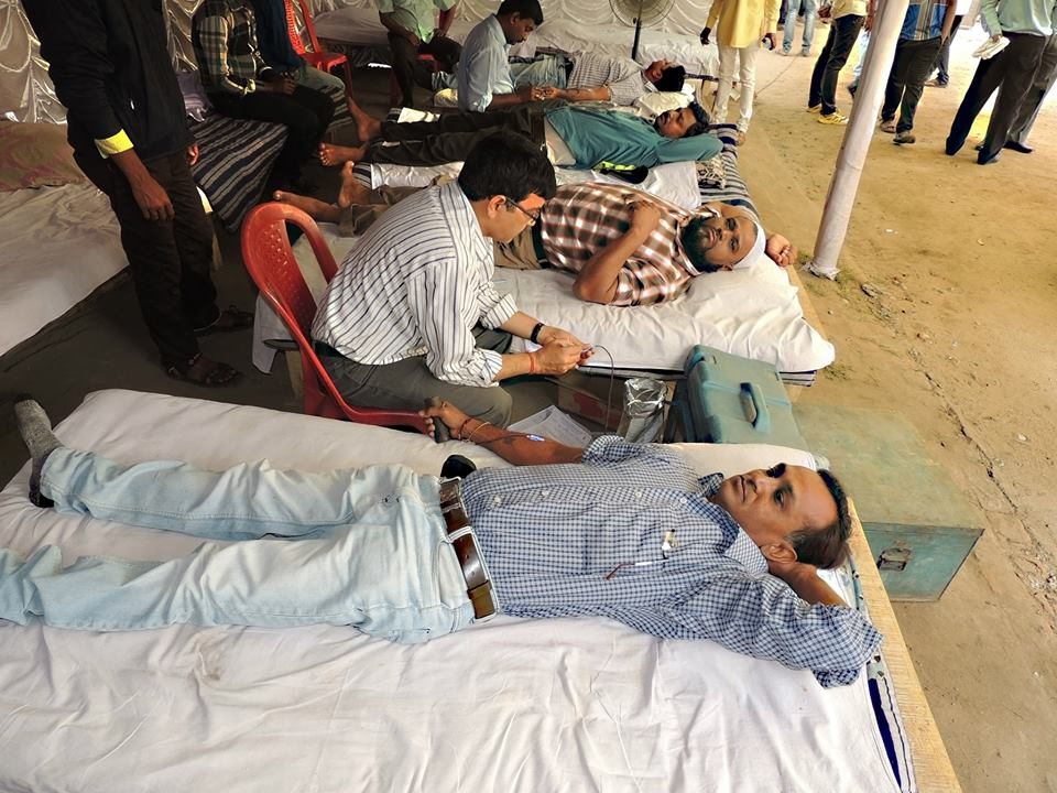 Voluntarily Blood Donation Camp Organized by Asansol South PS