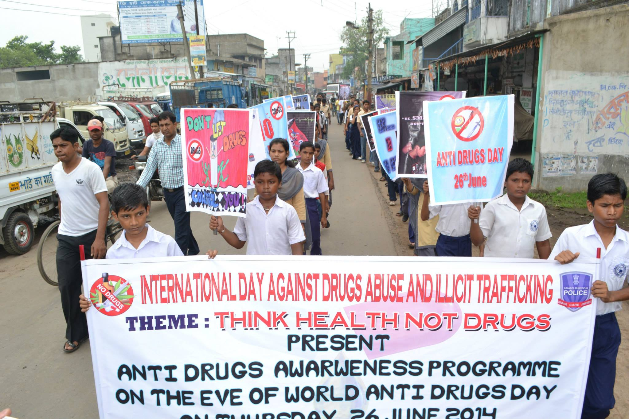 Anti Drug Rally