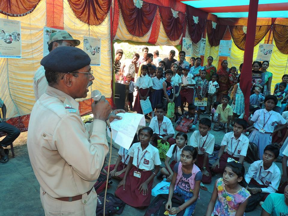 Traffic Awarness and Drawing Competition at Asansol North Traffic Guard