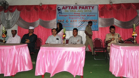 Aftar Party organized by FAIZ-E-AAM COMMITTEE (A Social Welfare Organisation of Asansol Durgapur Police)