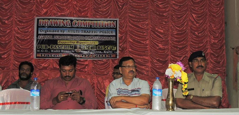 DRAWING COMPETITION ORGANISED BY KULTI TRAFFIC POLICE