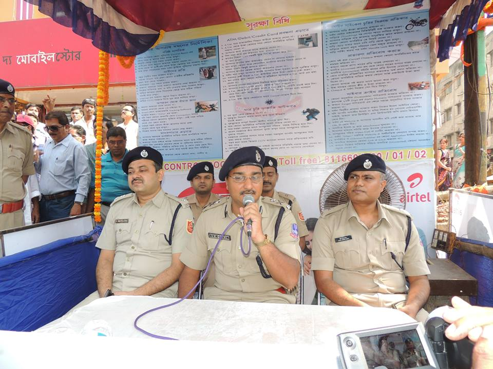 Inauguration of Police Assistance Booth