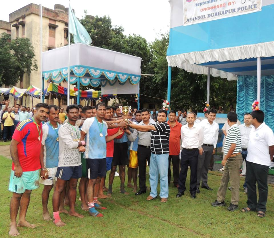 Football Tournament at Asnansol Police Lines