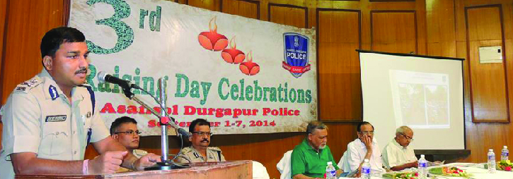 ASANSOL-DURGAPUR POLICE COMMISSIONERATE WEST BENGAL GOVERMENT 3rd Raising Day Celebrations