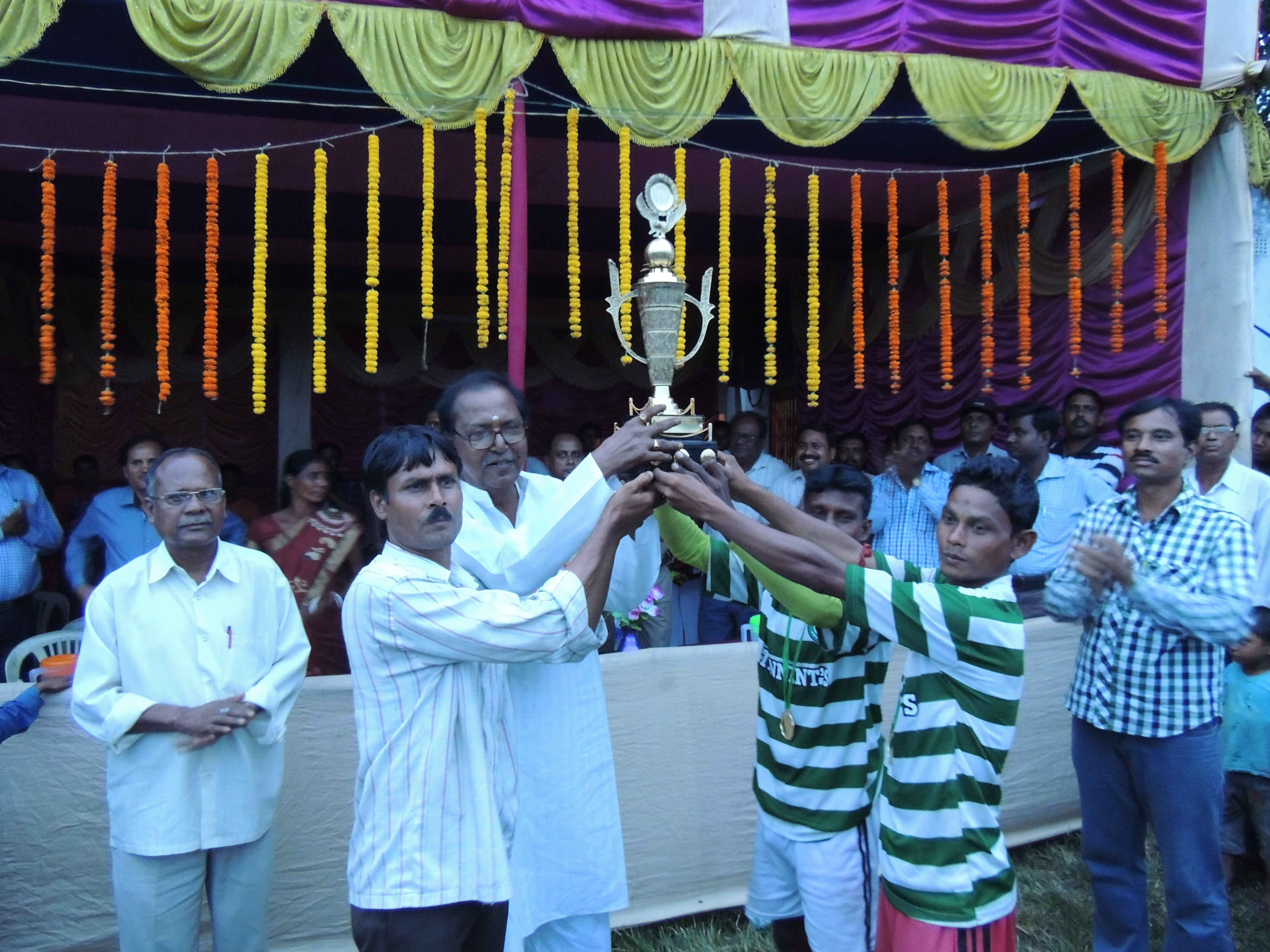 TWO DAYS KNOCKOUT FOOTBALL TOURNAMENT ORGANIZED BY SALANPUR PS