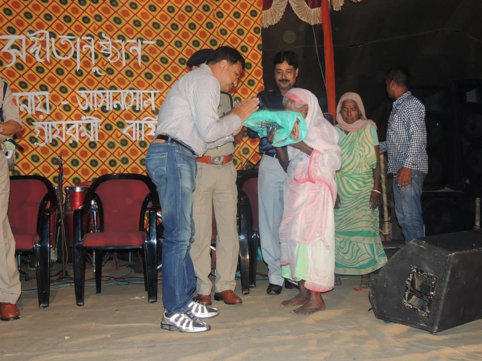 MAHABIR AKHRA PRIZE DISTRIBUTION & CLOTH DISTRIBUTION