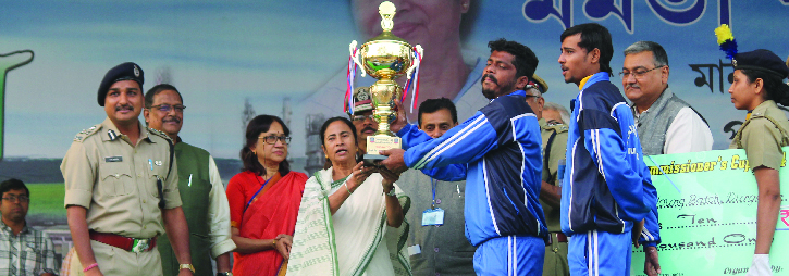 ASANSOL-DURGAPUR POLICE COMMISSIONERATE WEST BENGAL GOVERMENT Commissioner's Cup Football Tournament 2014