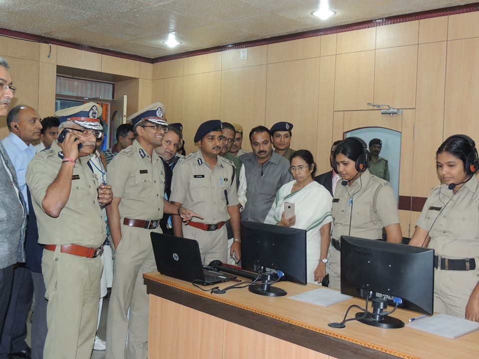 Inauguration of Asansol Durgapur Police Upgraded Control Room