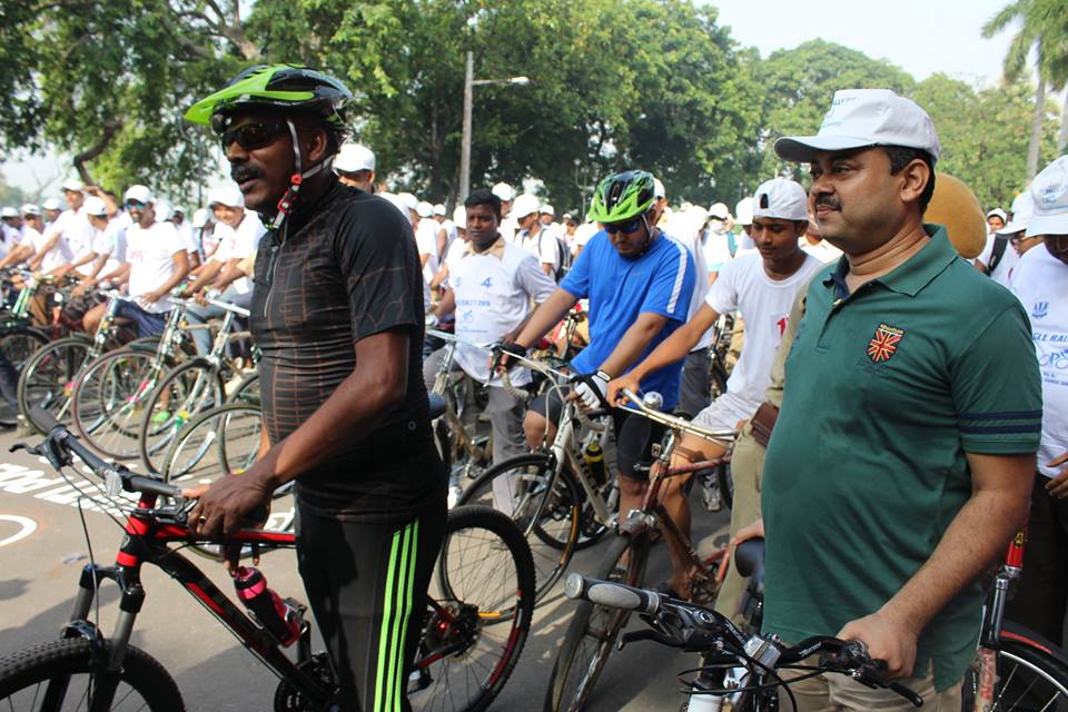 CYCLE RALLY 2015, AT DURGAPUR
