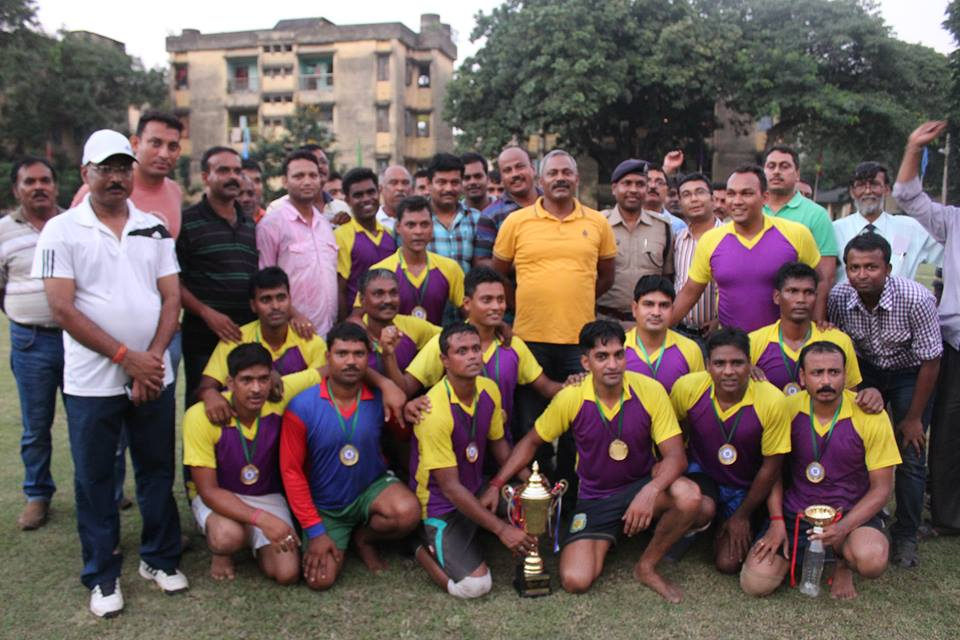 FOOTBALL TOURNAMENT AT ASANSOL POLICE LINES