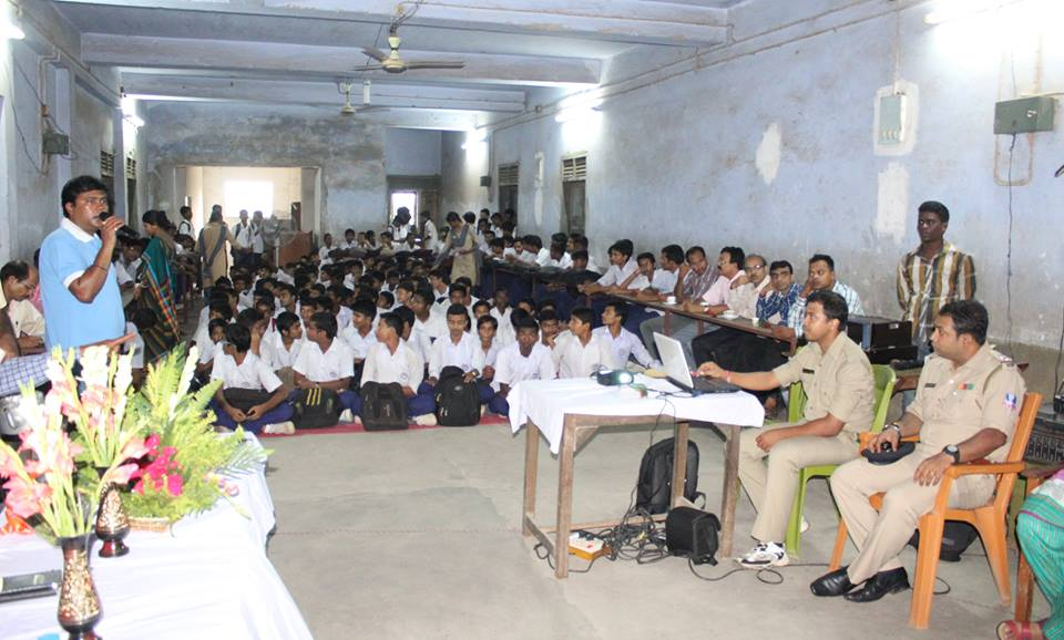 INTERACTION PROGRAMME WITH THE STUDENTS, AT NTS PS
