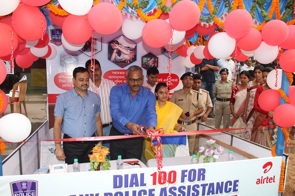Police Assistance Booth Opening