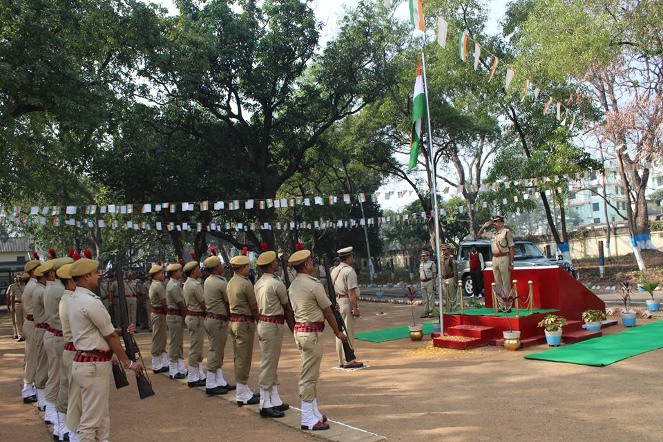 67th Republic Day Celebrations at Commissioner Office Asansol.