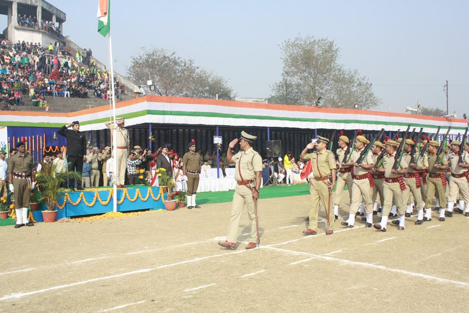 67th Republic Day Celebrations at Polo Ground, Asansol.