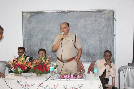 An Interaction Cum Felicitation Programme organised by Hirapur PS at Subhash Pally Vidyaniketan High School on 08.12.2015