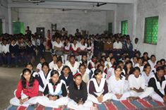 An interaction cum felicitation programme organized by Jamuria PS at Ikhra High School on 11.01.2016.
