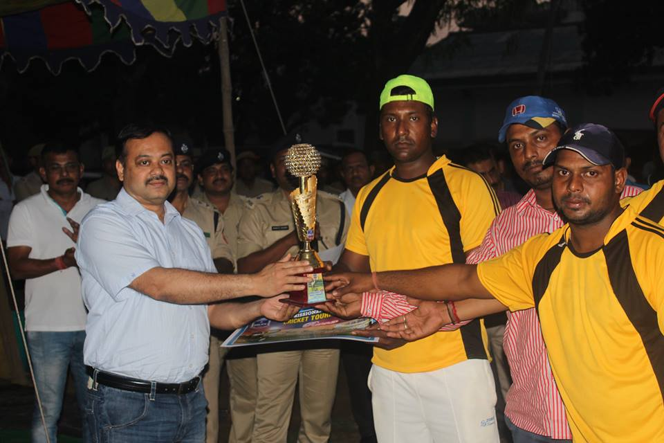 Commissioner's Cup Cricket Final Match held on 03.03.2016 at Asansol Police Lines Football Ground