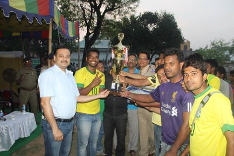 Commissioner's Cup Football Final Match held on 04.03.2016 at Asansol Police Lines Football Ground