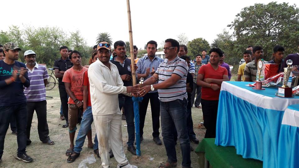 JAMURIA POLICE STATION ORGANISED 02 DAYS KNOCK OUT CRICKET TOURNAMENT 2016