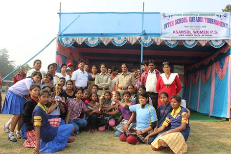 On 30.01.16 a One Day Knock-out Kabadi Tournament held at Asansol Police Line Ground, organized by Asansol Women PS
