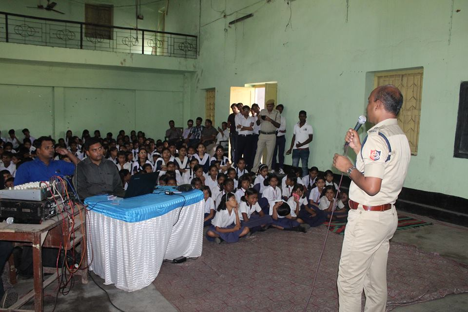 An Interaction Cum Felicitation Programme organised by Salanpur PS at DVC High School on 20.06.16