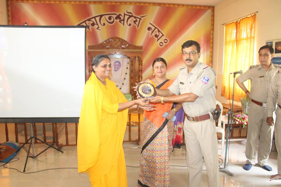 An Interaction Cum Felicitation Programme organised by New Town Ship PS Amrita Vidyalyam School on 29.06.2016.