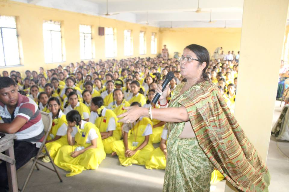An Interaction Cum Felicitation Programme organised by Asansol South PS Umarani Girls High School on 05.07.2016.