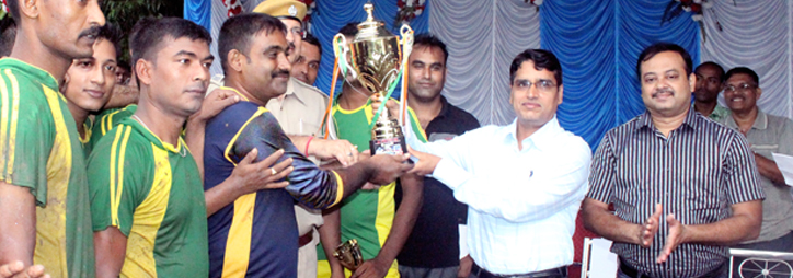 ASANSOL-DURGAPUR POLICE COMMISSIONERATE WEST BENGAL GOVERMENT A football Tournament among the Police Personnel organized at Asansol police line
