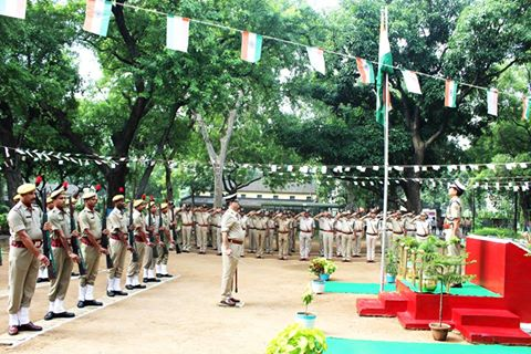 70 th Independence Day Celebrations at Commissioner Office.