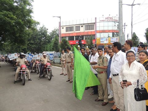 A Motor Cycle Rally & Rally on foot organised by