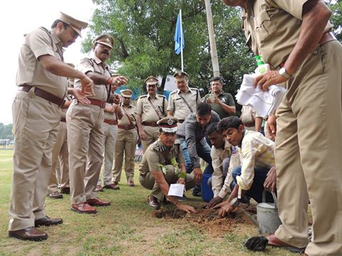 Free Health Check-up Camp & Tree Plantation Programme Organized by Asansol Durgapur Police on 01.09.2016 at Asansol Police LIne.