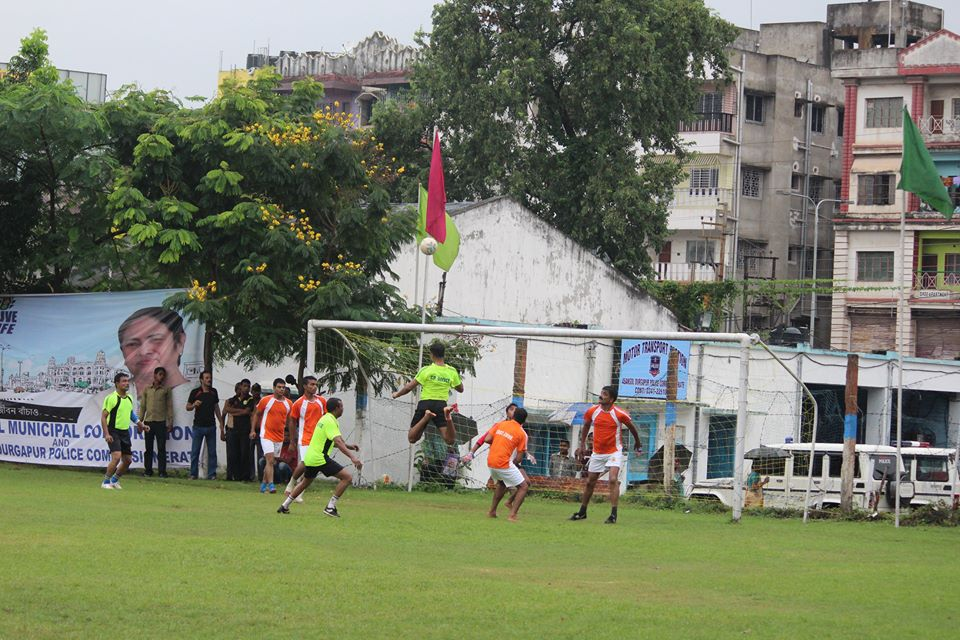 A football Tournament among the Police Personnel organized at Asansol police line.