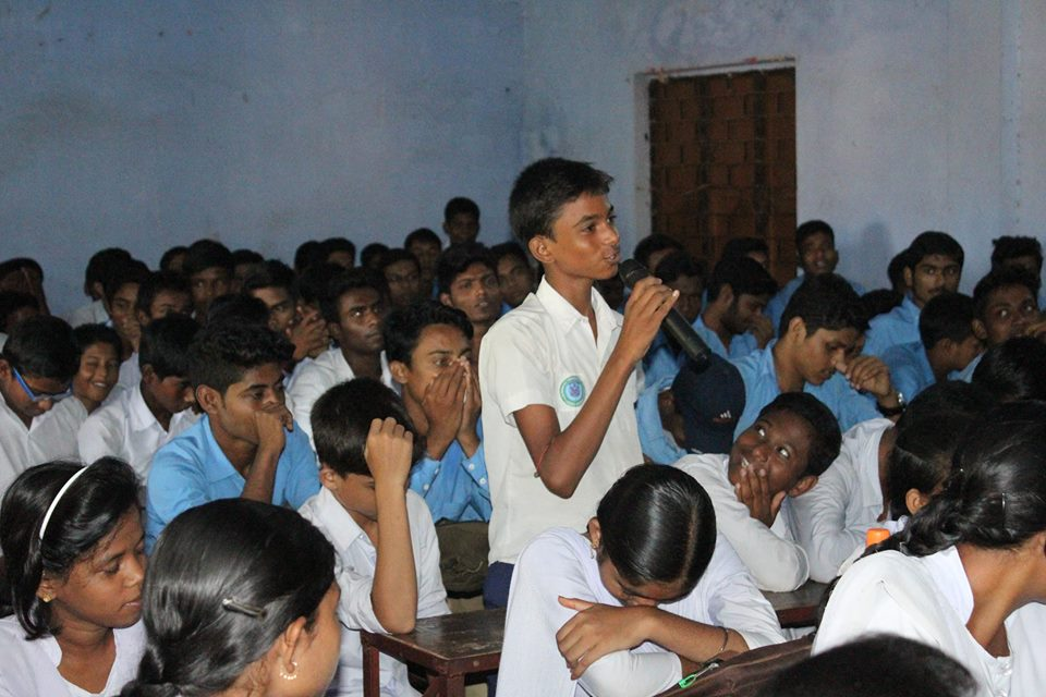 An Interaction Cum Felicitation Programme organised by Faridpur PS Loudoha Kali Tara Bijoy High School on 27.09.2016.