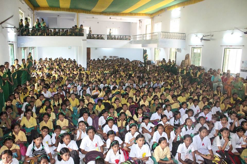 An Interaction Cum Felicitation Programme organised by Asansol South PS Ushagram Girls High School on 28.09.2016.