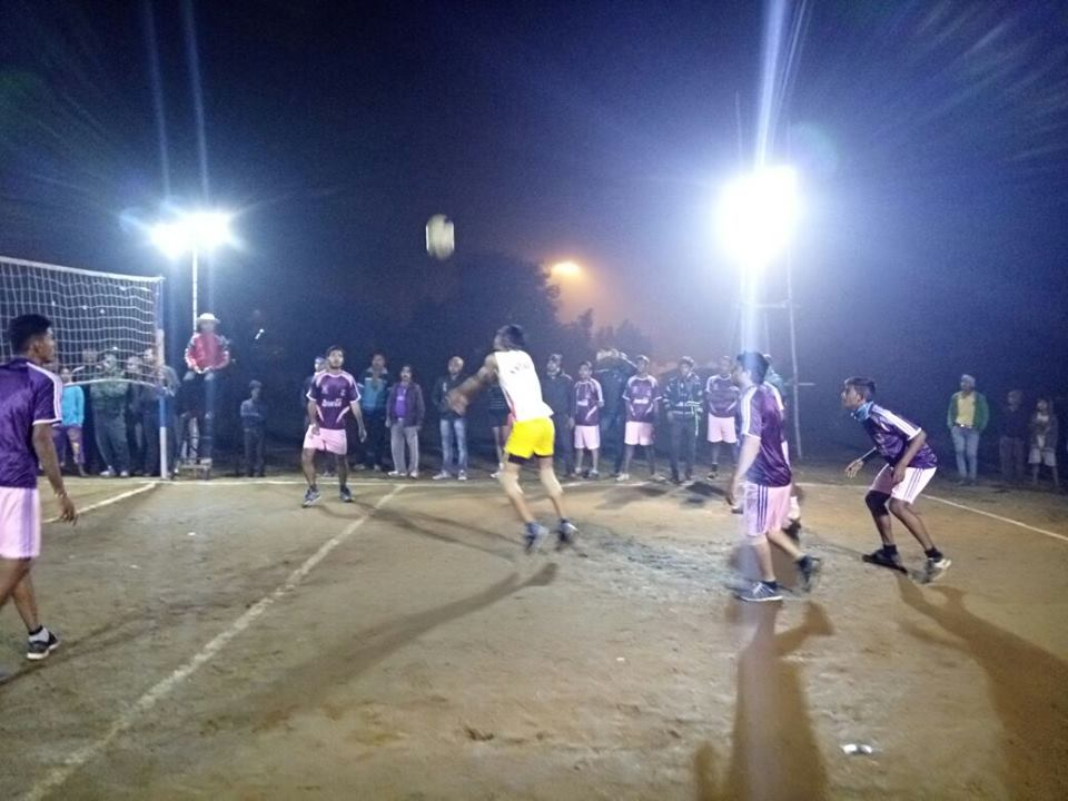 One day knock out Volley Ball tournament on 10.01.2017 organized by Asansol North PS