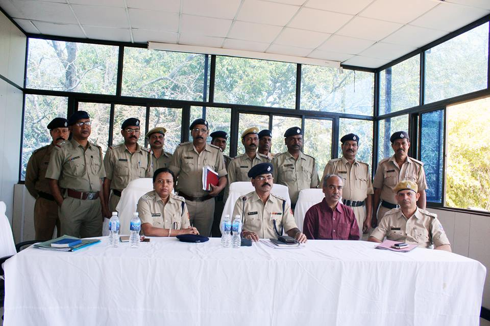 On 28.02.2017 a superannuation programme held at office of the commissioner of police,