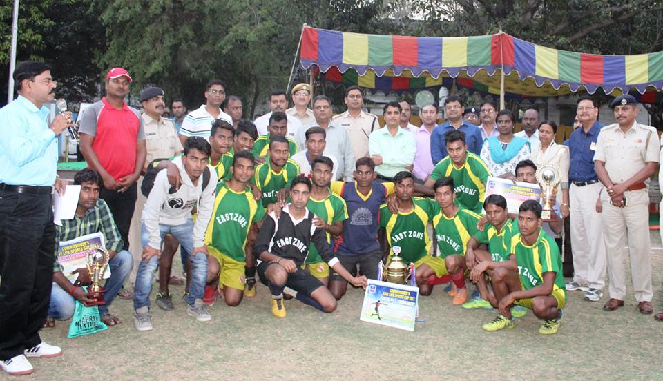 OMMISSIONER'S SAVE LIFE SPORTS CUP CRICKET & FOOTBALL TOURNAMENT 2016-17 ORGANIZED BE ASANSOL DURGAPUR POLICE ON 16th -17th MARCH 2017
