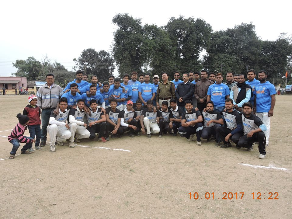 One day knock out cricket & Football tournament organized by Cokeoven police station, on 10.01.2017