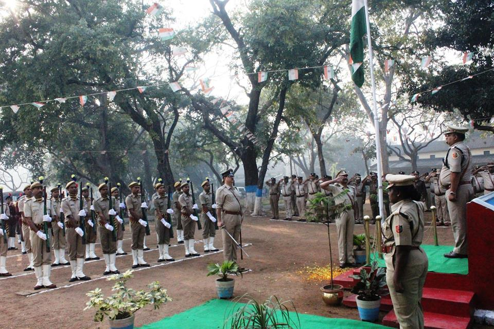 68th Republic Day Celebrations at Commissioner Office Asansol